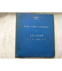 Spare Parts Catalogue For Jaguar 4.2 E Type 2+2