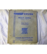 Standard Ensign Deluxe Models Spare Parts Catalogue