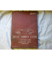 Jaguar Series 3 E-Type 2+2 Fixed Head Coupe Illustrated Parts Catalogue