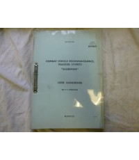 Combat Vehicle Reconnaissance, Tracked CVRT Scorpion User Hand Book
