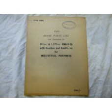 Enfo Parts List 933cc & 1,72cc Engines With Gearbox Code 19946
