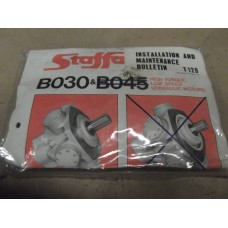 Staffa B030 Hydraulic Motor Seal Kit