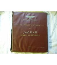 Jaguar Mark 10 Models Spare Parts Catalogue 1962