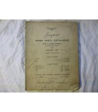 Jaguar Spare Parts Catalogue 3 1/2 Litre Models and