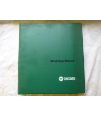 Workshop Manual For Chrysler 1500/2500 PB Models Army Code 22435