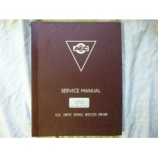 AEC Service Manual Marshal Tilt Cab Army Code 22307