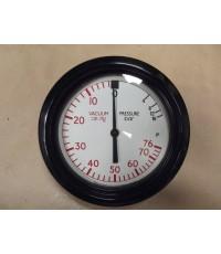 Lucas Compund Pressure Gauge +16 Bar Vacuum CM.HG 76 Approx. 4.5