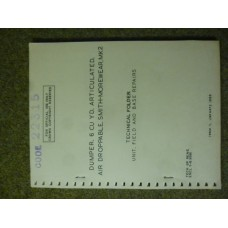 Dumper, 6 CU YD, Articulated< Air Droppable Technical Folder