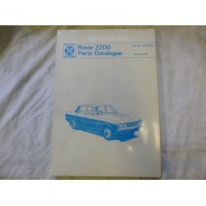 Rover 2200 Parts Catalogue RTC9011A - January 1975