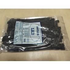 Insulok Tie Wrap Qty. 100 222mm x 9.6mm Max dia.54mm LK3