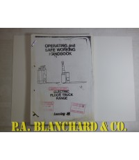 Lansing 4 & 4.1 Electric Floor Truck Range Operating And Safe Working Handbook