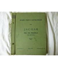 Jaguar MK. VII Models Spare Parts Catalogue
